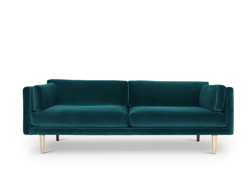 A Sofa_ Sigurd Larsen for Formal A_Danish design berlin_Green velvet